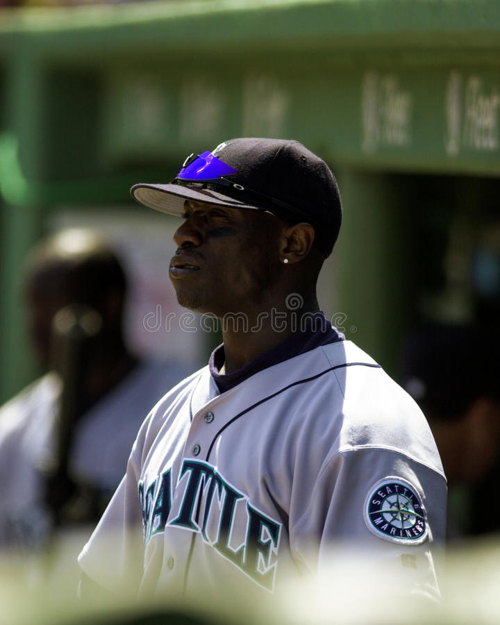 Mike Cameron, Seattle Mariners. Seattle Mariners outfielder Mike Cameron. (Image taken from color slide stock photo