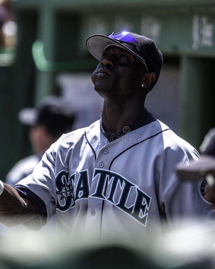 Mike Cameron, Seattle Mariners. Seattle Mariners outfielder Mike Cameron. (Image taken from color slide stock photography
