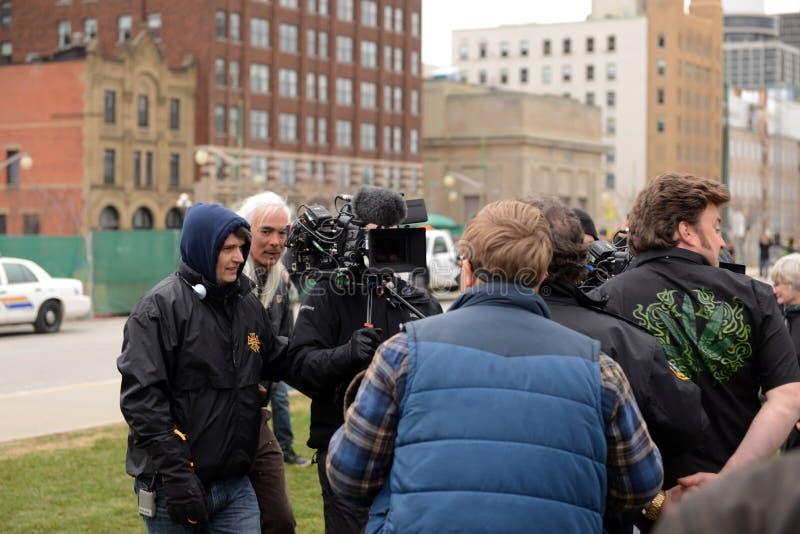 Mike Clattenburg directs Trailer Park Boys movie stock photos
