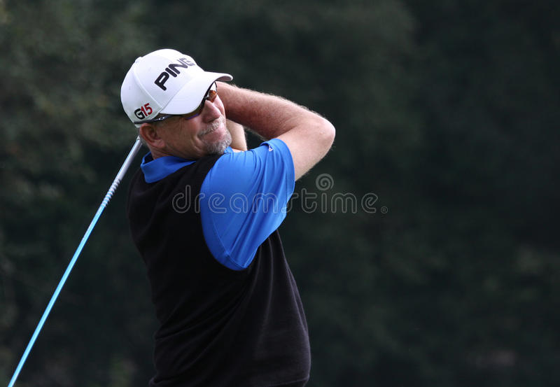 Mike Cunning Cannes-Mougins Seniors Masters stock photography