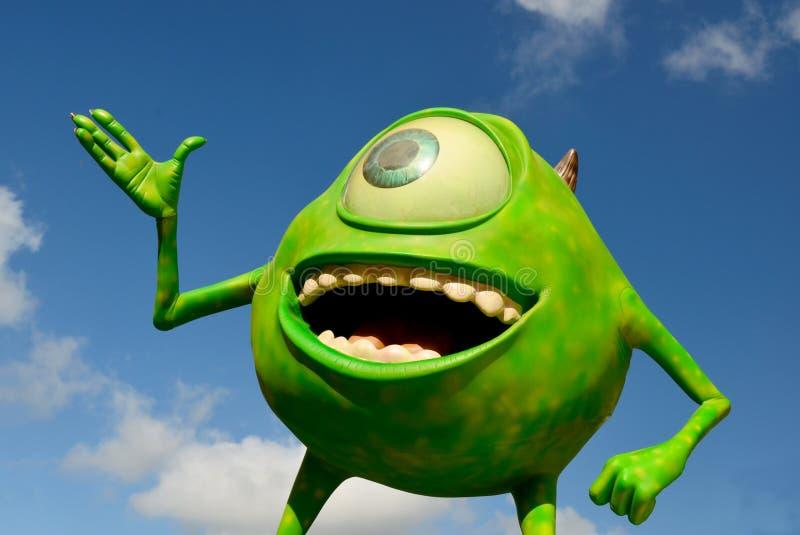 Mike des monstres inc. incorporés photo stock