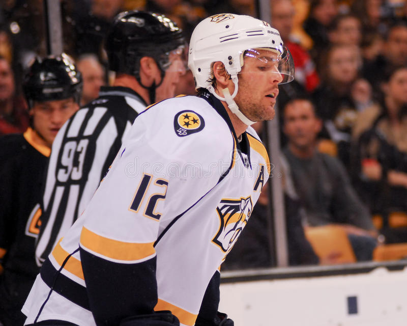 Mike Fisher, Nashville-Fleischfresser lizenzfreie stockbilder