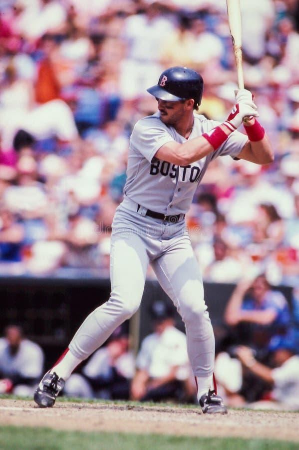Mike Greenwell Boston Red Sox fotografia stock libera da diritti