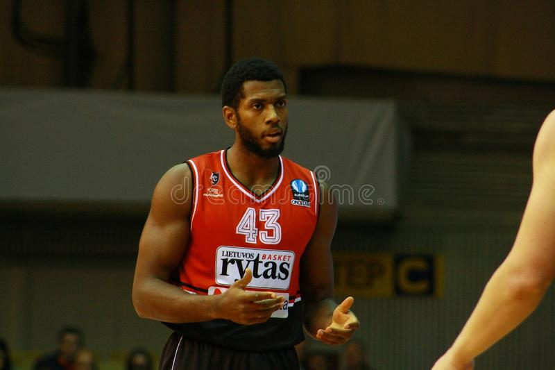 Mike Moser. Michael Alexander Mike Moser is an American professional basketball player who currently plays for Lietuvos rytas of the Lithuanian Basketball League royalty free stock images