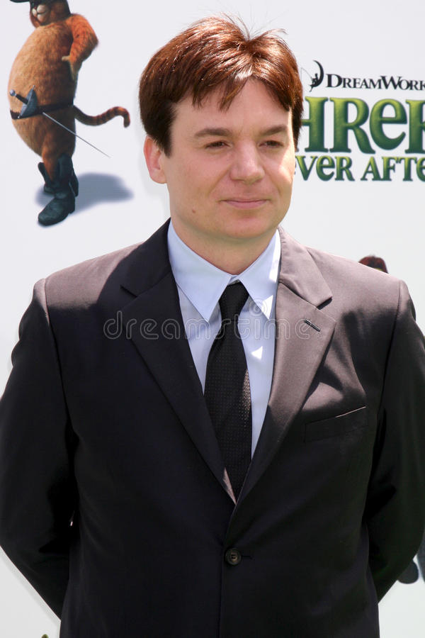 Mike Myers. Arrives at the Shrek Forever After LA Premiere Gibson Ampitheatre, Universal Studios Los Angeles, CA May 16, 2010 stock photos