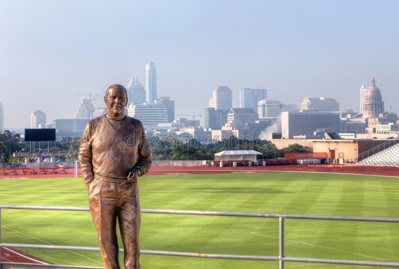 Mike A. Myers Statue fotografie stock libere da diritti