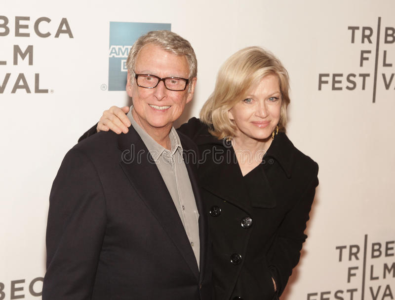 Download Mike Nichols And Diane Sawyer Editorial Photography - Image: 20925307