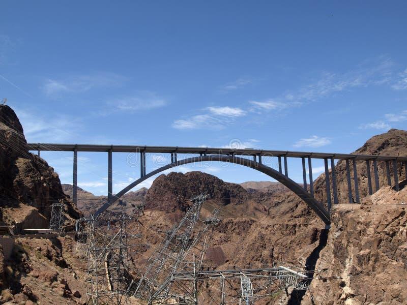 "Mike Oâ €™Callaghan †""Pat Tillman Memorial Bridge (Colorado Riv stock foto's"