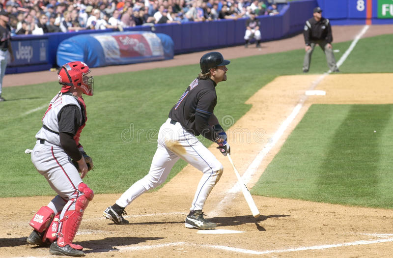 Mike Piazza photo stock