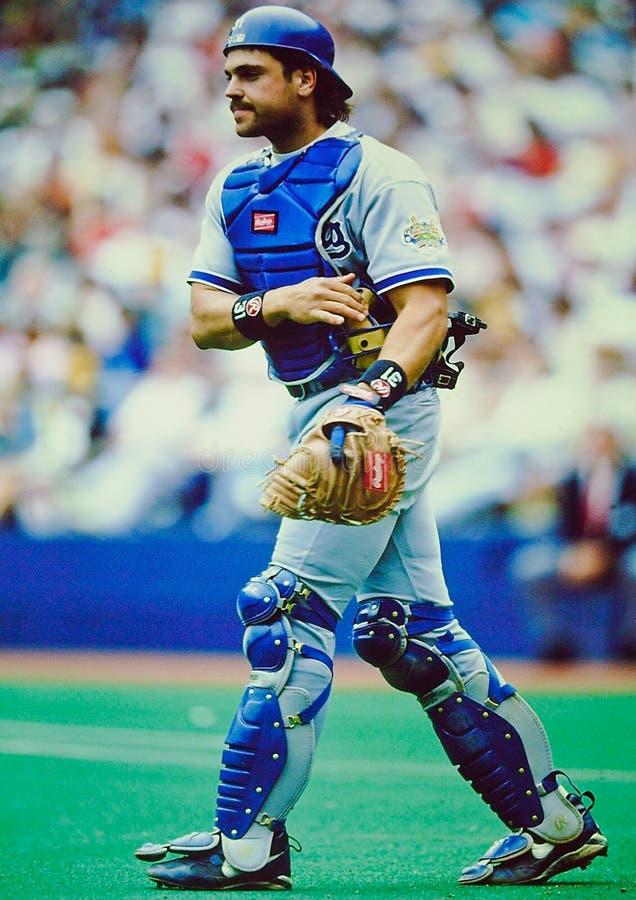 Mike Piazza Los Angeles Dodger foto de stock
