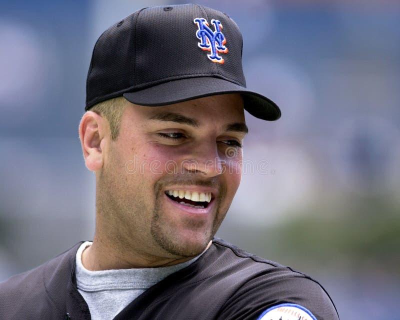 Mike Piazza, New York Mets photo libre de droits
