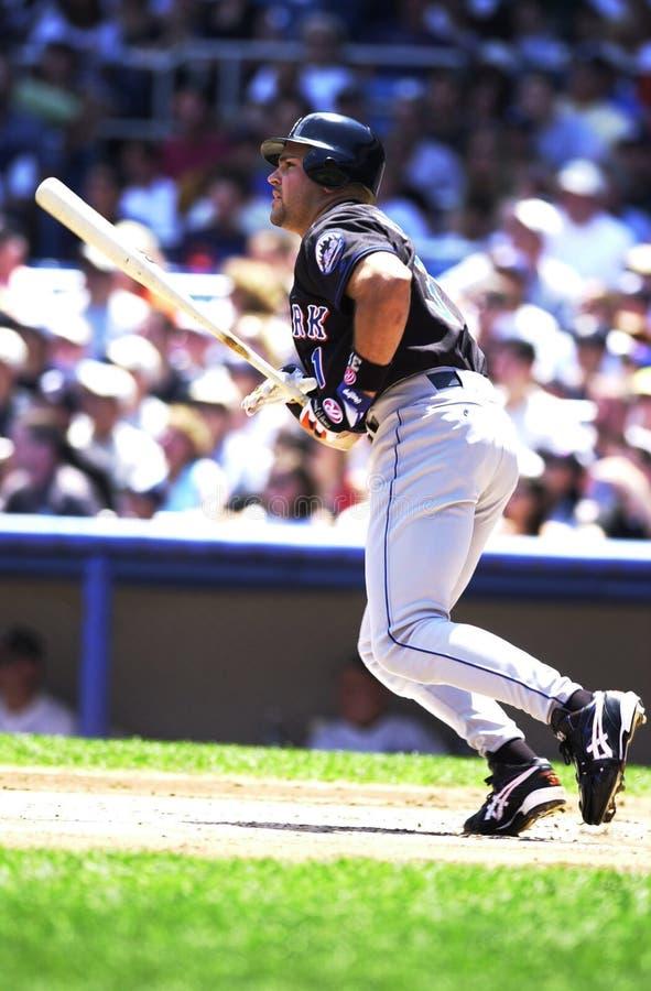 Mike Piazza New York Mets images libres de droits