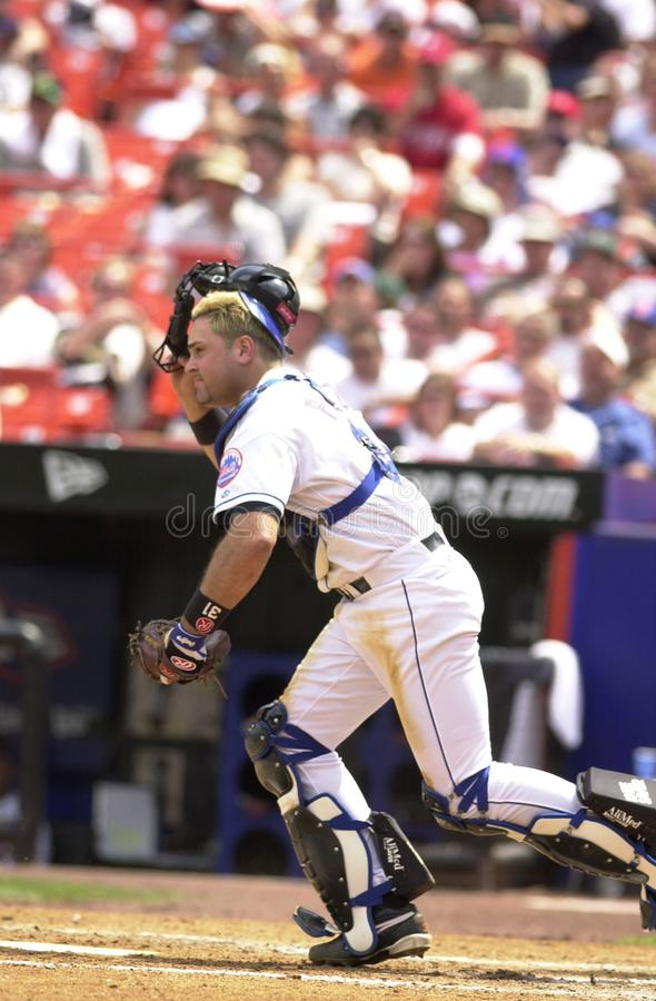 Mike Piazza New York Mets photo stock