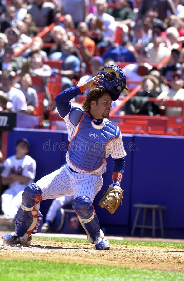Mike Piazza New York Mets photographie stock