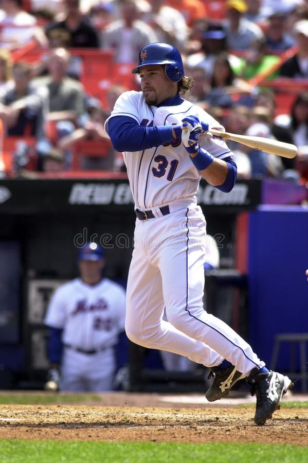 Mike Piazza New York Mets image stock