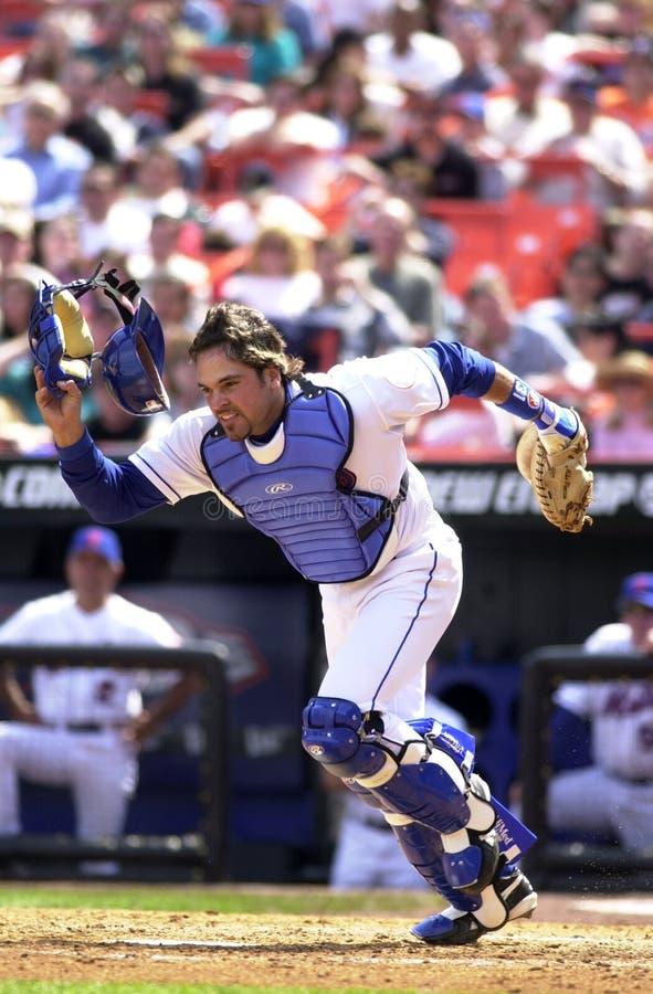 Mike Piazza New York Mets image libre de droits