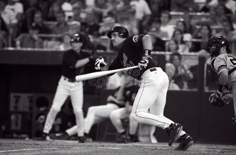 Mike Piazza New York Mets fotografia de stock