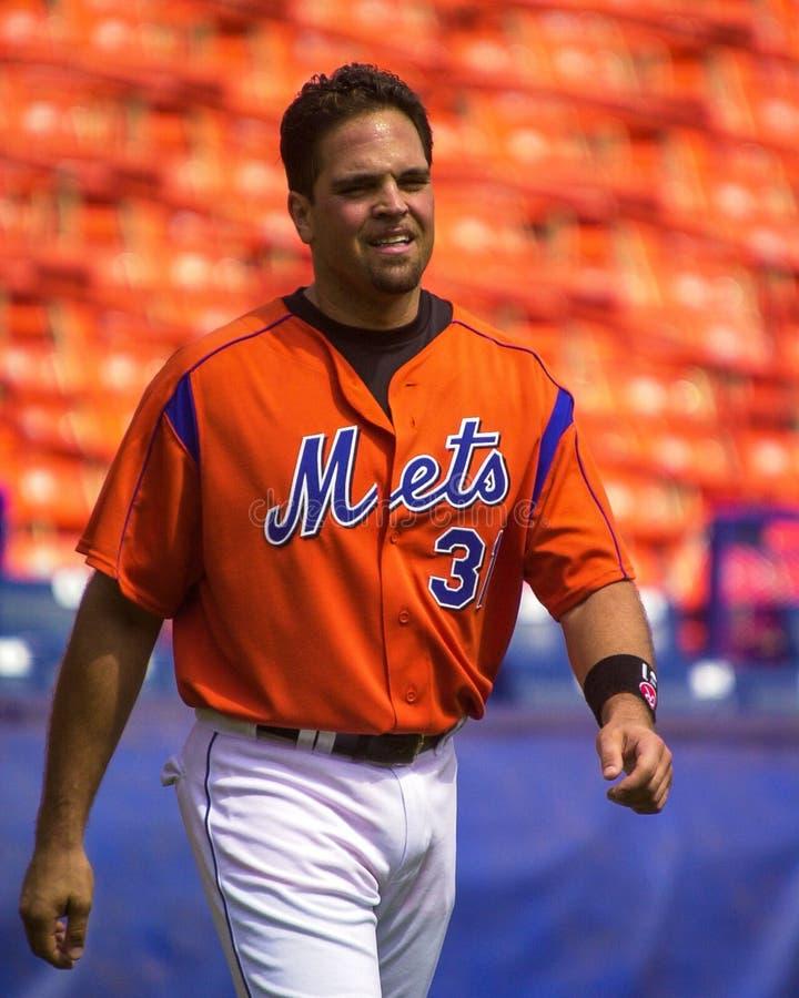 Mike Piazza, New York Mets fotografia de stock