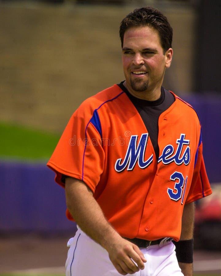 Mike Piazza, New York Mets fotografia de stock royalty free
