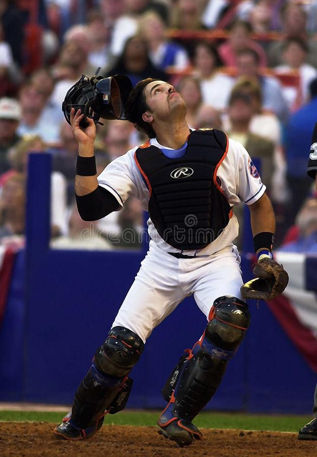 Mike Piazza Of The New York Mets fotografia de stock royalty free