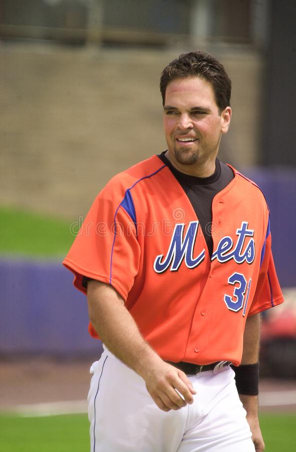 Mike Piazza royalty free stock photo