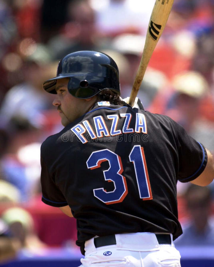 Mike Piazza royalty free stock image