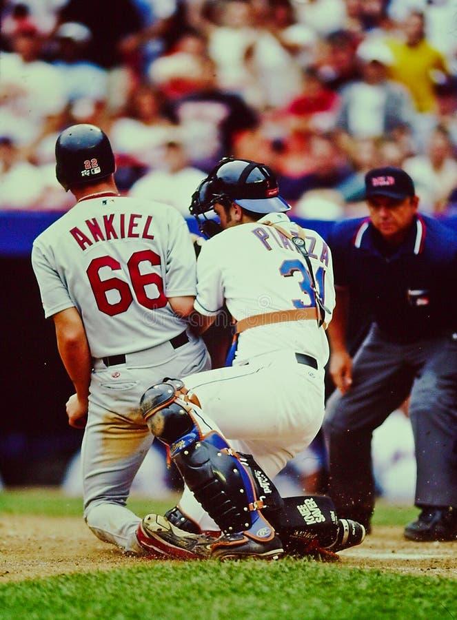 Mike PiazzaNew York Mets stoppare arkivbilder