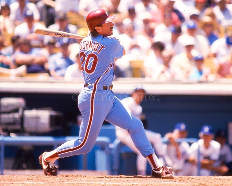 Mike Schmidt, Philadelphia Phillies fotos de archivo