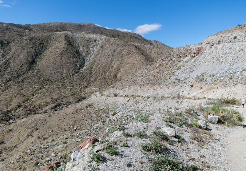Mike Schuler Trail, Palm Desert stockbild