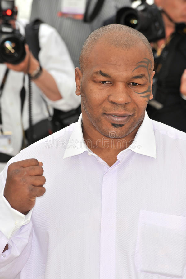 Mike Tyson. At the photocall for his new movie Tyson at the 61st Annual International Film Festival de Cannes. May 17, 2008 Cannes, France. Picture: Paul Smith stock images