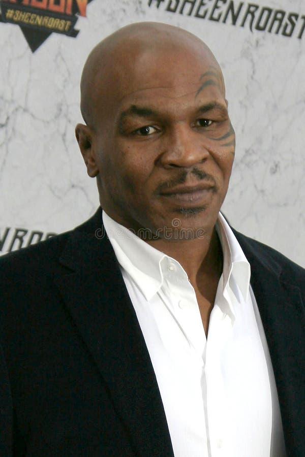 Mike Tyson royaltyfri foto