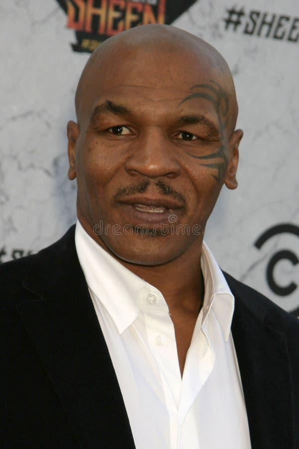 Mike Tyson fotos de archivo