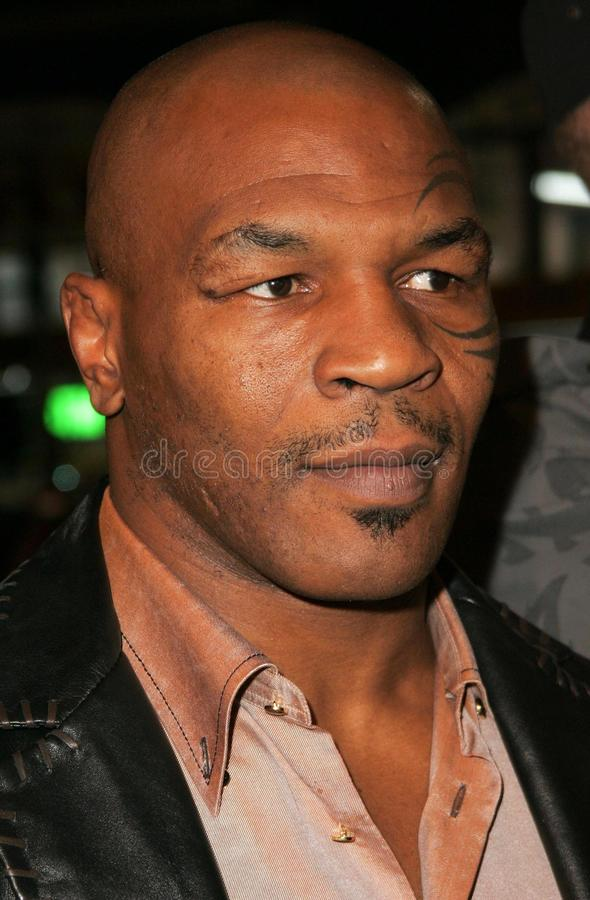 Mike Tyson fotos de stock royalty free