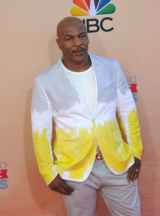 Mike Tyson lizenzfreies stockbild