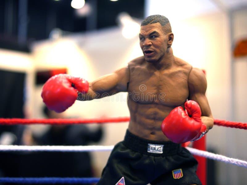 Mike Tyson dans l'ÂME 2014 de JOUET image libre de droits