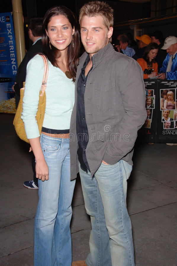 Mike Vogel. Actor MIKE VOGEL & wife COURTNEY at the Los Angeles premiere of Standing Still. April 10, 2006 Los Angeles, CA 2006 Paul Smith / Featureflash royalty free stock photography