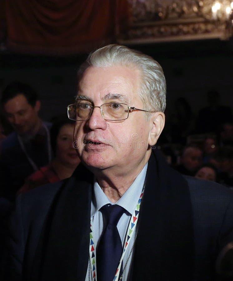 Mikhail Borisovich Piotrovsky Diretor do eremitério do estado foto de stock royalty free