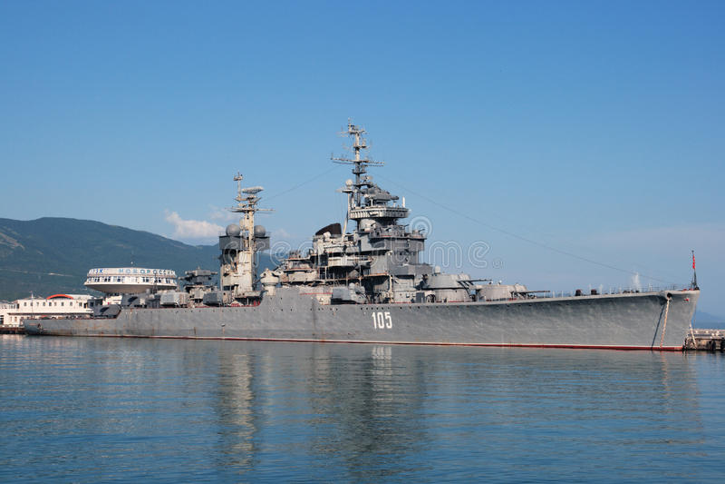 mikhail kutuzov крейсера стоковые фотографии rf