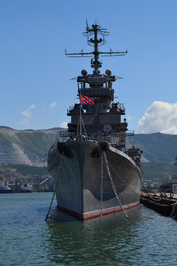 ` Mikhail Kutuzov ` крейсера стоковое фото rf