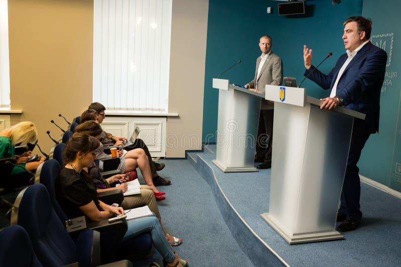 Mikhail Saakashvili стоковое фото