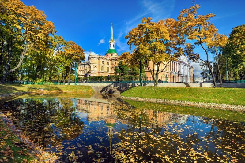 Download Mikhailovsky宫殿, StPetersburg,俄罗斯 库存照片 - 图片 包括有 公园, 俄国: 72369116