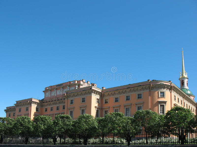 Mikhailovsky (castello del Engineers') fotografia stock
