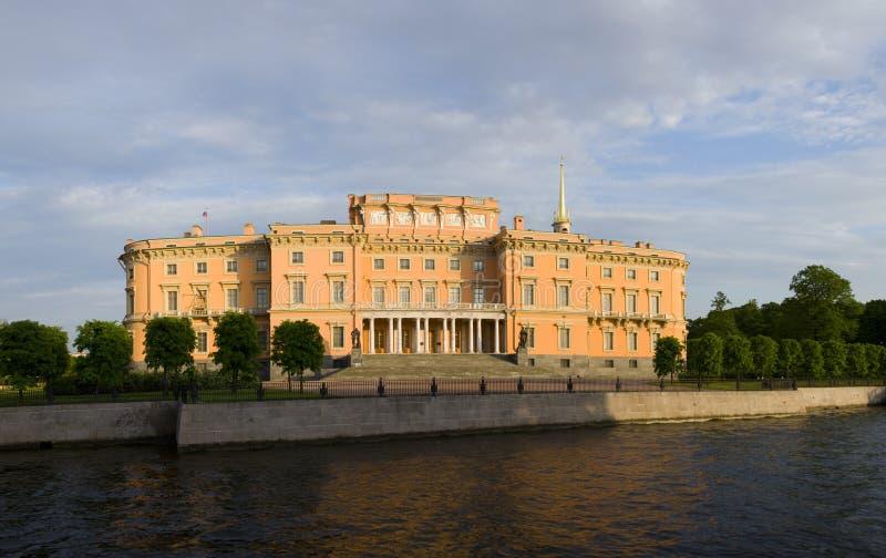 mikhailovsky slott royaltyfri foto