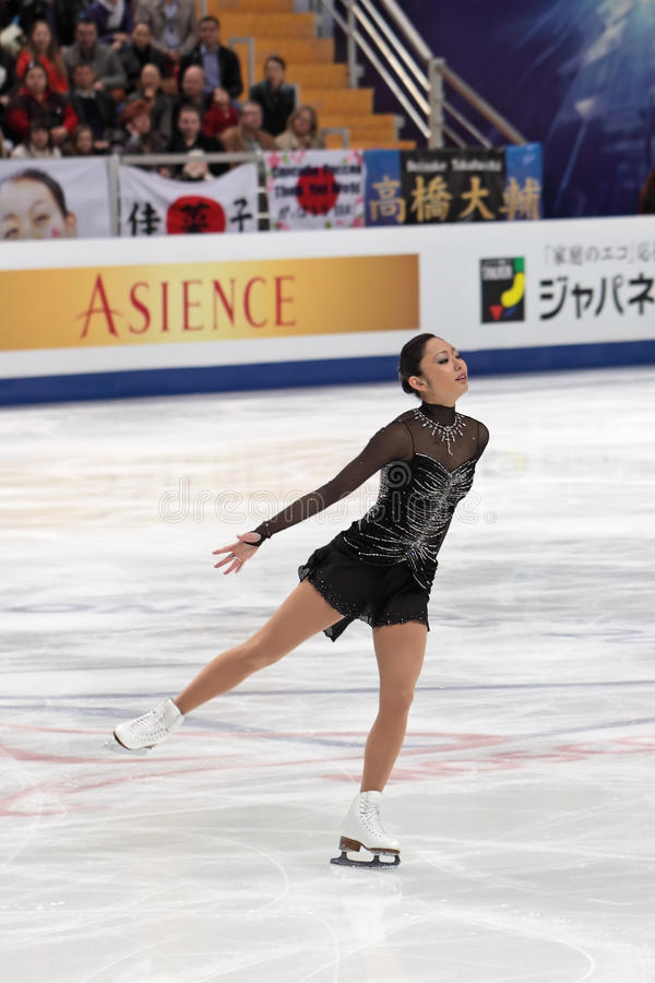 Download Miki Ando, Japanese Figure Skater Editorial Stock Image - Image: 21781619