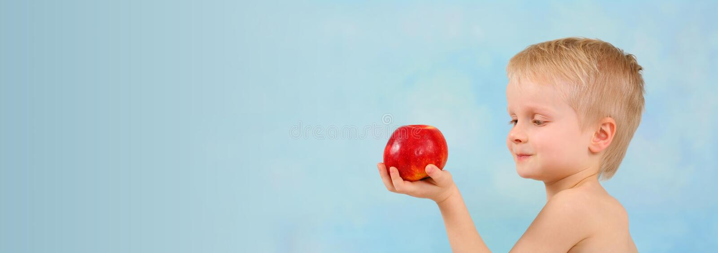 Miki`s apple stock image