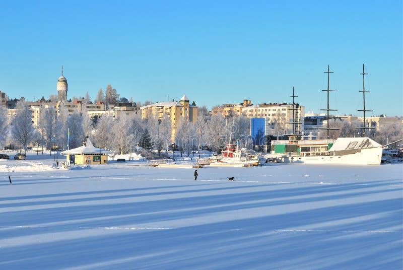 Mikkeli,芬兰 免版税库存图片
