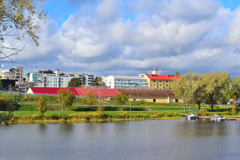 Mikkeli, Finlandia immagine stock. Immagine di lago, puntello - 45089045