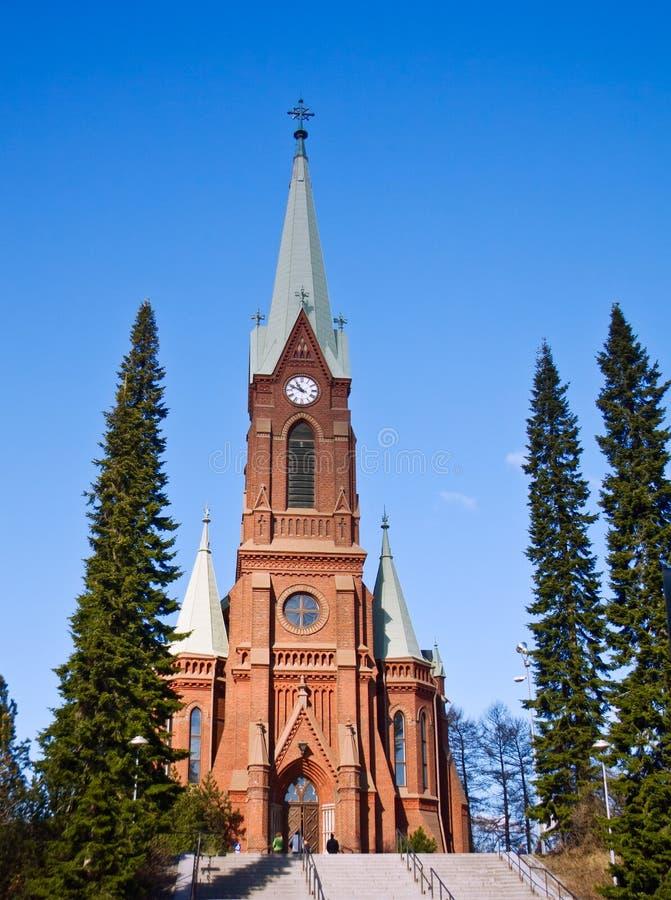Mikkeli Katedra obrazy stock