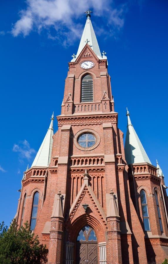 Mikkeli Katedra zdjęcie stock