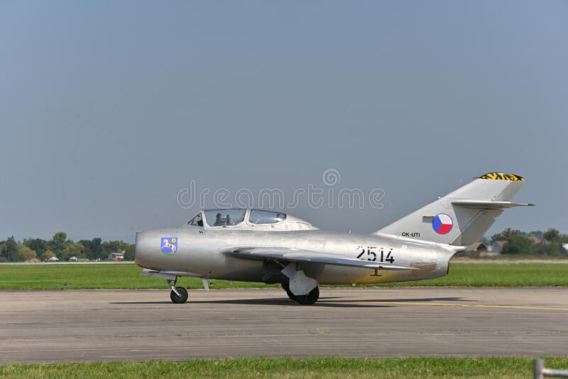 Mikojan-Gurevič MiG-15, FAGOT, Микоян и Гуревич МиГ-15 royalty free stock photo